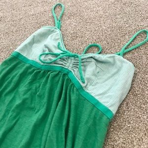 Victoria's Secret PINK green slip size xsmall